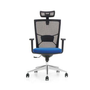 Aero Executive Chair Black and Blue