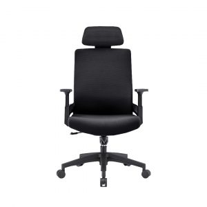 Concave office chair(black)