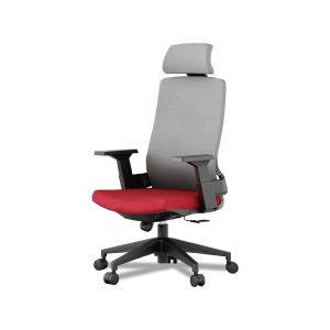 Concave office chair(red)
